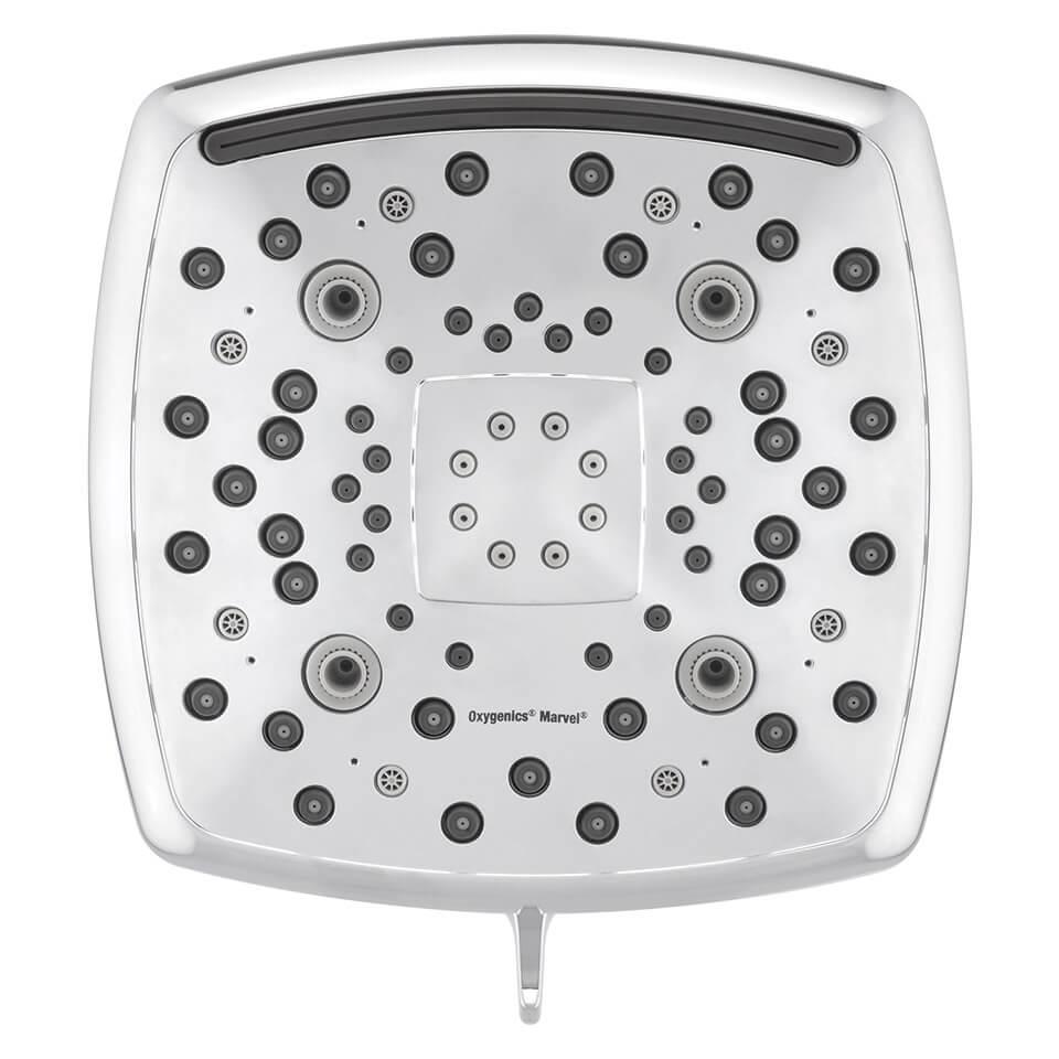 Fixed shower head Oxygenics Marvel 6.8 l/min -