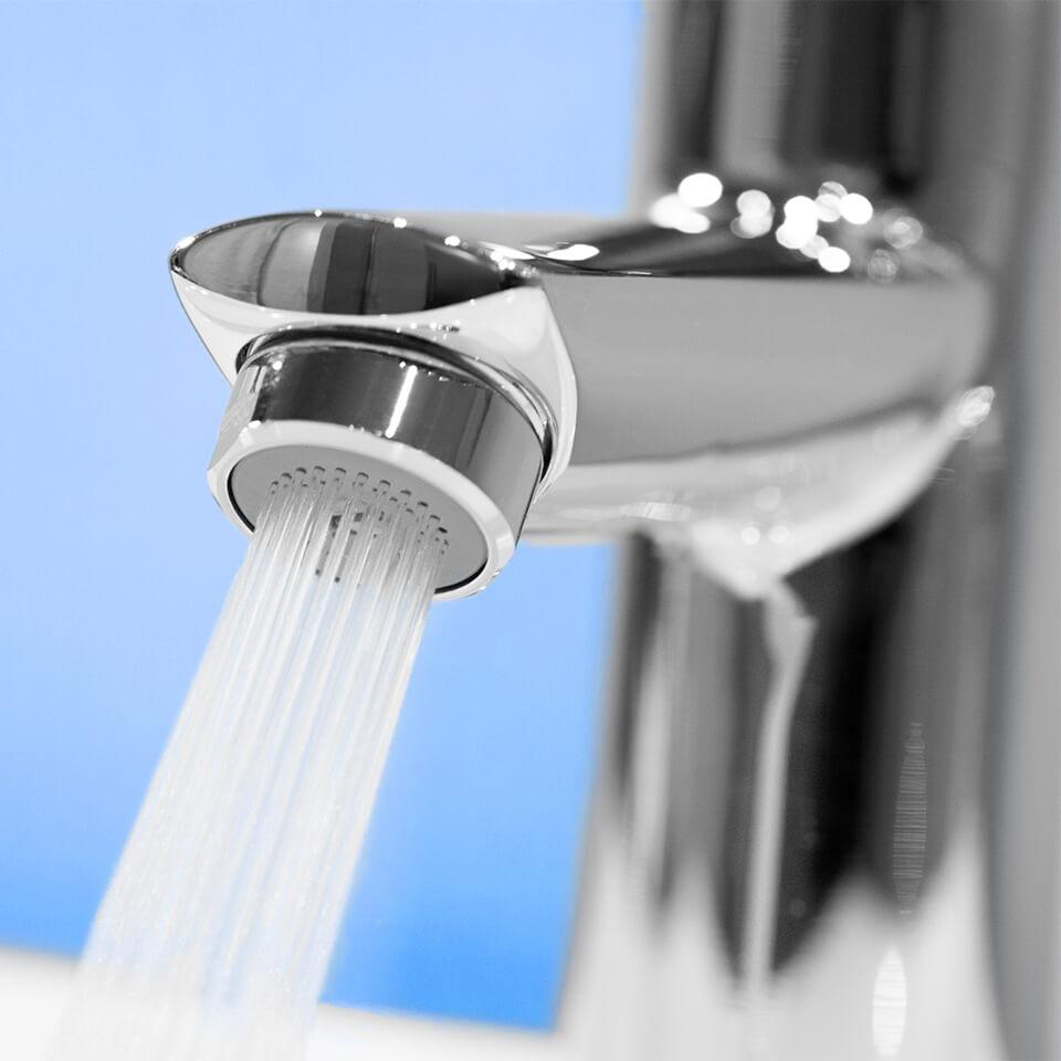 Adjustable tap aerator Hihippo R 1.8 - 8.0 l/min - Thread M24x1 male - most popular
