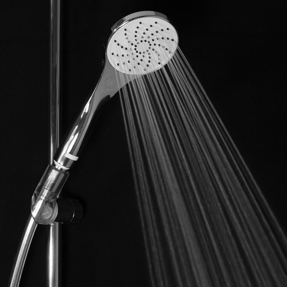 Shower head EcoVand Style Air 6 l/min -
