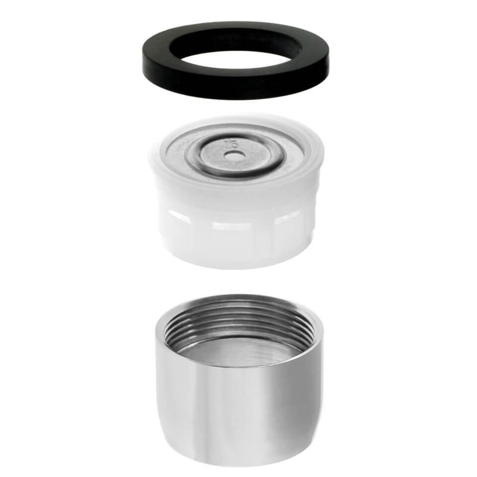 Tap aerator Neoperl Bubble Stream 6 l/min - Thread M22x1 female