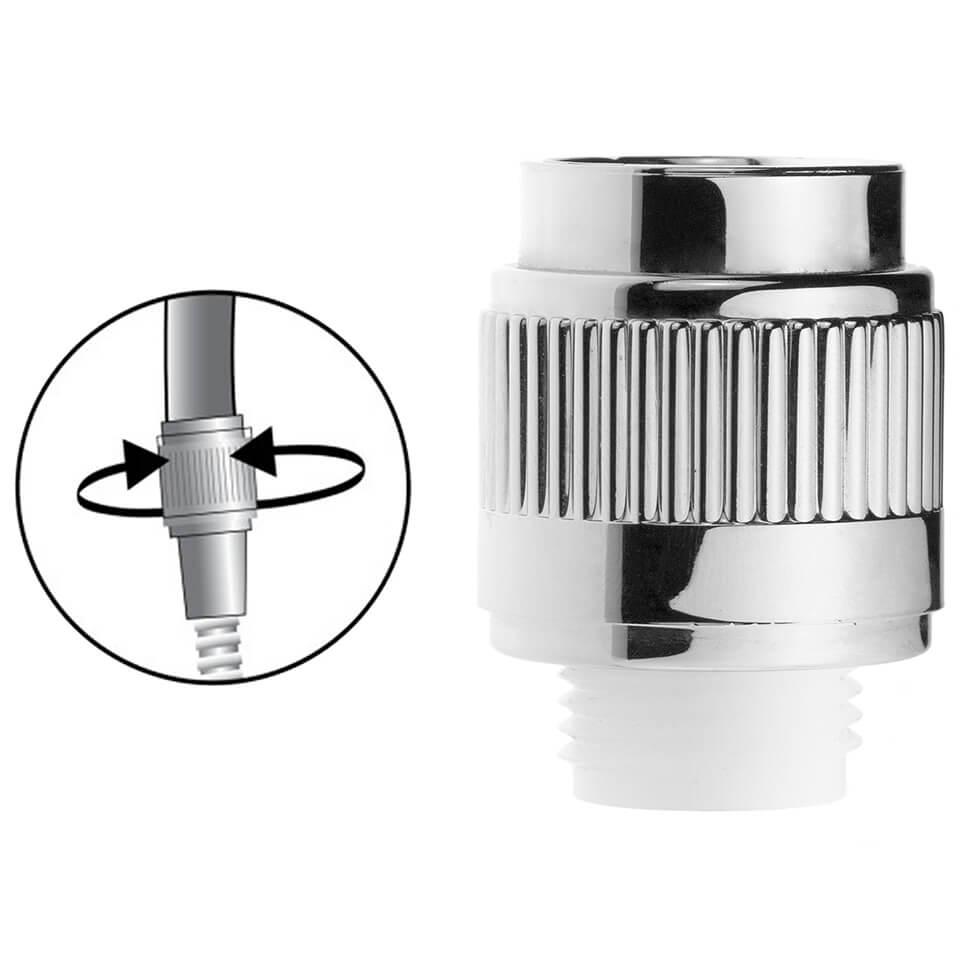Adjustable shower flow regulator Oxygenics CC 2-8 l/min -