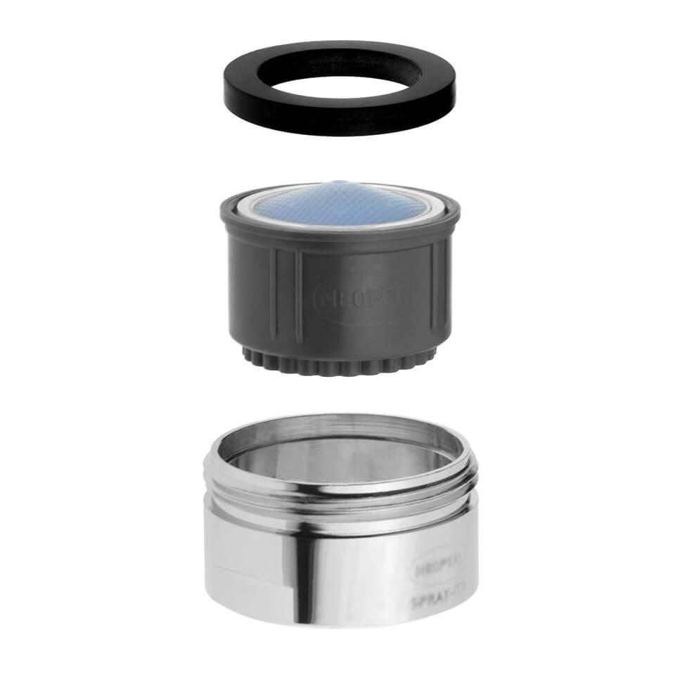 Tap aerator Neoperl ITR Rain 3.8 l/min - Thread M24x1 male - most popular