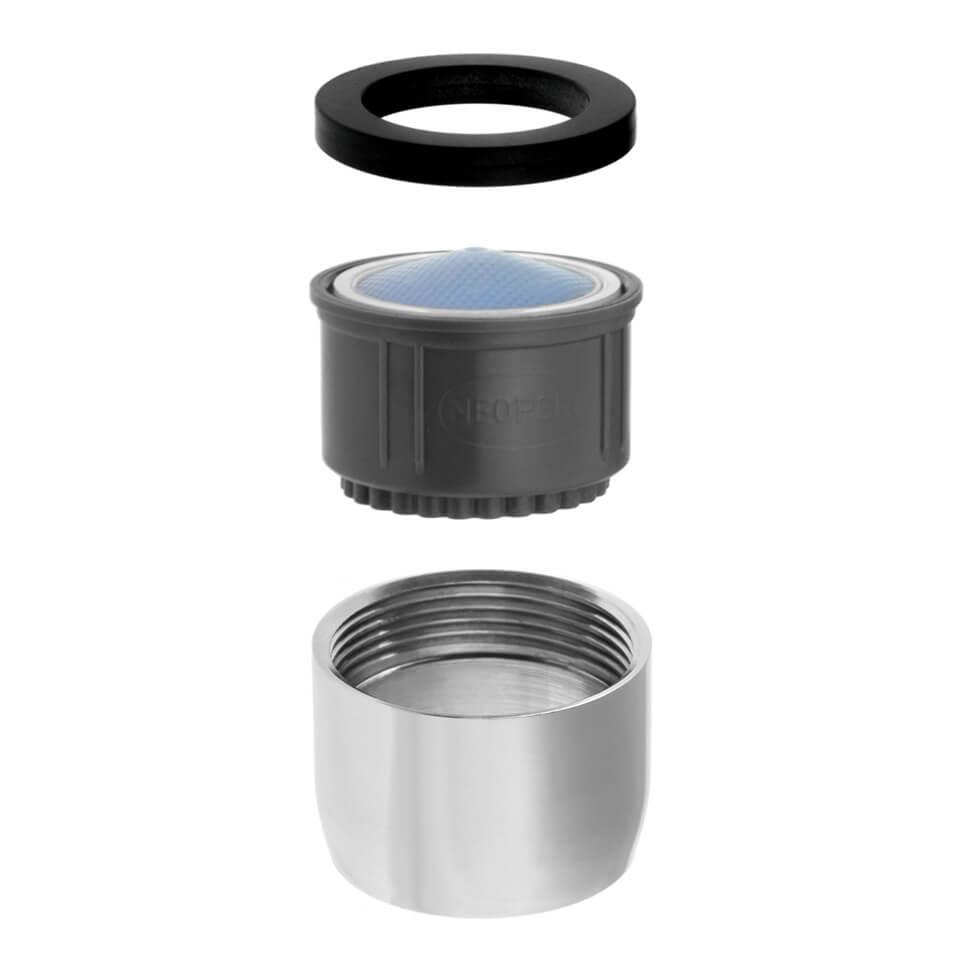 Tap aerator Neoperl ITR Rain 3.8 l/min - Thread M22x1 female