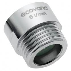 Shower flow regulator EcoVand ECR 6 l/min